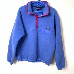 Patagonia vintage fleece pullover